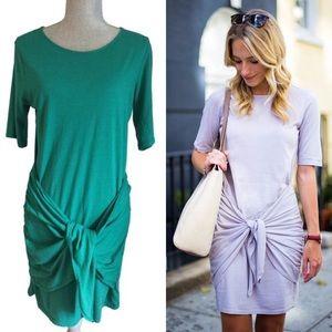Michael Stars XS & Small Faux Wrap Tee Dress BNWT!